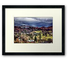 Grasmere Landscape Framed Print