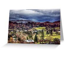 Grasmere Landscape Greeting Card