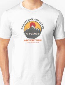 BJJ 4 Points Full Mount Club (grunge version) T-Shirt