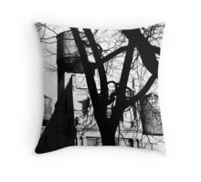 Untitled - WT B&W Throw Pillow