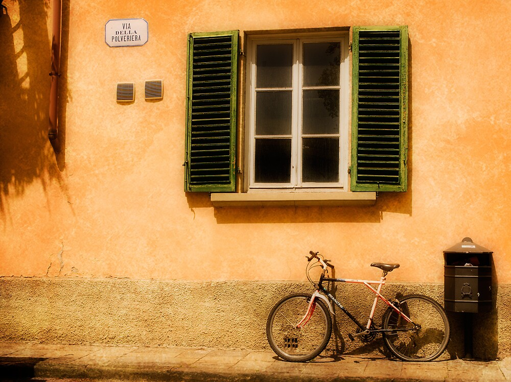 Left Flat in Lucca by Mick Burkey