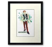 Punk!lock - Mycroft Framed Print