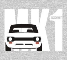 MK 1 ESCORT RS 1800 2000 MEXICO MEN'S T-SHIRTS One Piece - Long Sleeve