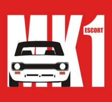 MK 1 ESCORT RS 1800 2000 MEXICO MEN'S T-SHIRTS One Piece - Short Sleeve