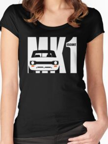 MK 1 ESCORT RS 1800 2000 MEXICO MEN'S T-SHIRTS Women's Fitted Scoop T-Shirt