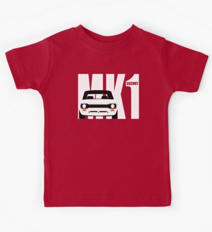 MK 1 ESCORT RS 1800 2000 MEXICO MEN'S T-SHIRTS Kids Tee