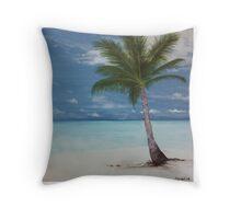 Jamaican Palm Throw Pillow