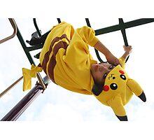 Pikachu Kigurumi Photographic Print