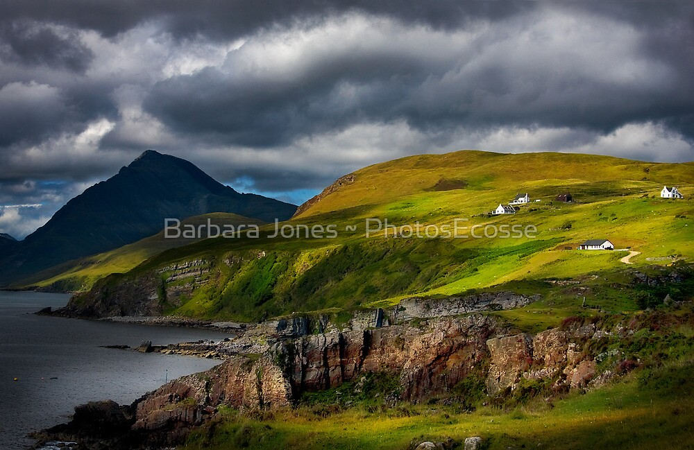 Elgol and Blaven, in Summer, Isle of Skye. Scotland. by PhotosEcosse