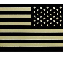 AMERICA, American Military Arm Flag, US Military IR Infrared Reflective USA Flag by TOM HILL - Designer