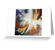 expressive spiritual abstract (no title) Greeting Card