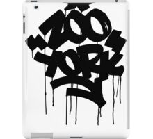 ZOO YORK BLACK iPad Case/Skin