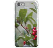 Christmas Berries iPhone Case/Skin