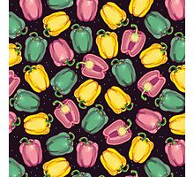 epic bell peppers in space Photographic Print