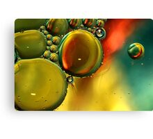 Oil & Water VIII Canvas Print