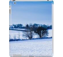 local views in the snow in UK iPad Case/Skin