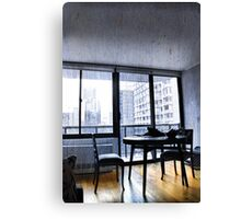 Apartment Living... Room with a View Canvas Print