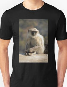 Grey Langur Monkey, Rajasthan, India T-Shirt