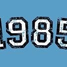Year 1985 Vintage Birthday Anniversary by theshirtshops