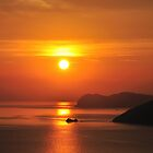 Sunset, Elba by itchingink