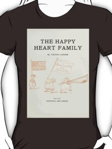 The Happy Heart Family Virginia Gearson 1907 0009 Title Plate T-Shirt