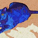 Blue Cat by Lisann