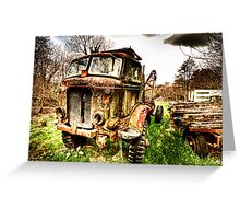 Fordson Truck Greeting Card
