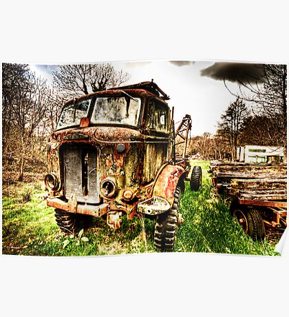 Fordson Truck Poster