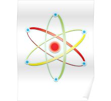 ATOM, ATOMIC, SMALL, Physics, Neutrons, Protons, Electrons, Nuclear, Energy, Fission, Fusion  Poster