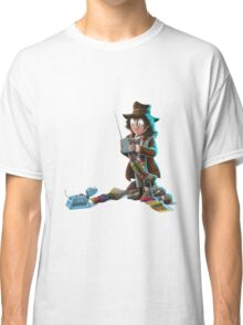 Doctor Who - 4th Doctor and K9 Classic T-Shirt