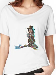 Doctor Who - 4th Doctor and K9 Women's Relaxed Fit T-Shirt