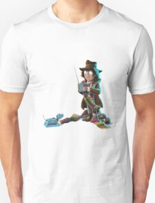 Doctor Who - 4th Doctor and K9 Unisex T-Shirt
