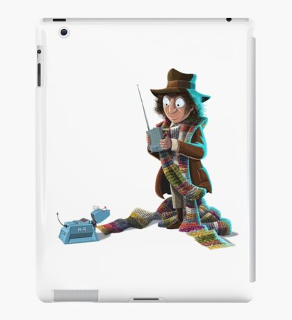 Doctor Who - 4th Doctor and K9 iPad Case/Skin