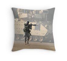 American Hero Series #2 Throw Pillow