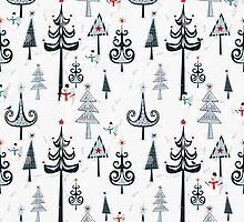Christmas Tree Forest by tracieandrews