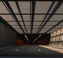Entering the tunnel by Marjolein Katsma