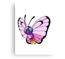 Shiny Butterfree Canvas Print