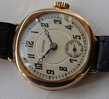 Vintage Cartier Womans gold watch by watches