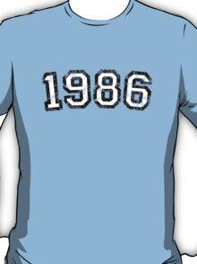 Year 1986 Vintage Birthday Anniversary T-Shirt