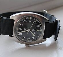 Hamilton 70's military handwind watch by watches