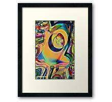 Detached Retina Framed Print