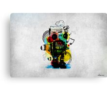 Groovetron Canvas Print