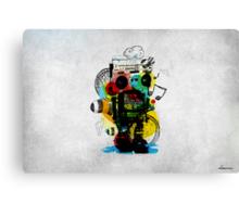 Groovetron Canvas Print