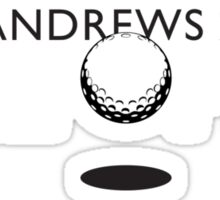 The Open, St Andrews 2010 Sticker