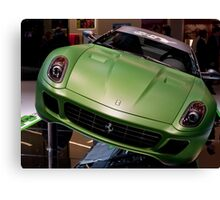 Green Not Red Canvas Print