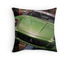 Green Not Red Throw Pillow