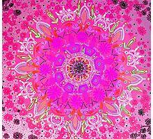 Persian Princess-pink Photographic Print