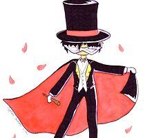 Tuxedo Mask  by Swink  Illustration