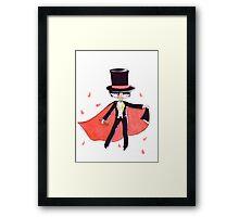 Tuxedo Mask  Framed Print