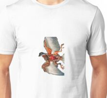 Pigeon anatomy Unisex T-Shirt
